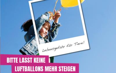 Luftballons – Gefährlich für Tiere