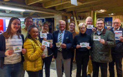 CDU-Ratsmitglieder besuchen Ausstellung Wilder Müll