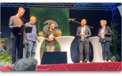 Nachhaltigkeitspreis der Stadt Willich für unser Buch